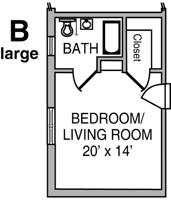 Cribbs Floor Plan B – Large