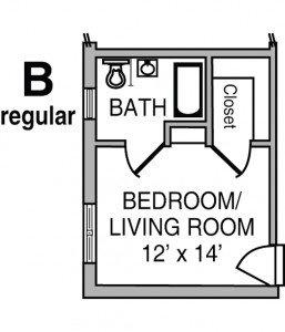 Cribbs Floor Plan B - Regular