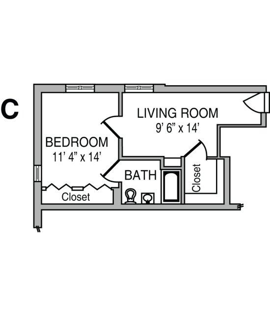 Cribbs Floor Plan C