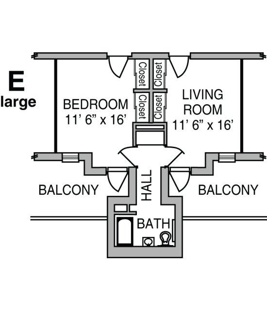 Cribbs Floor Plan E