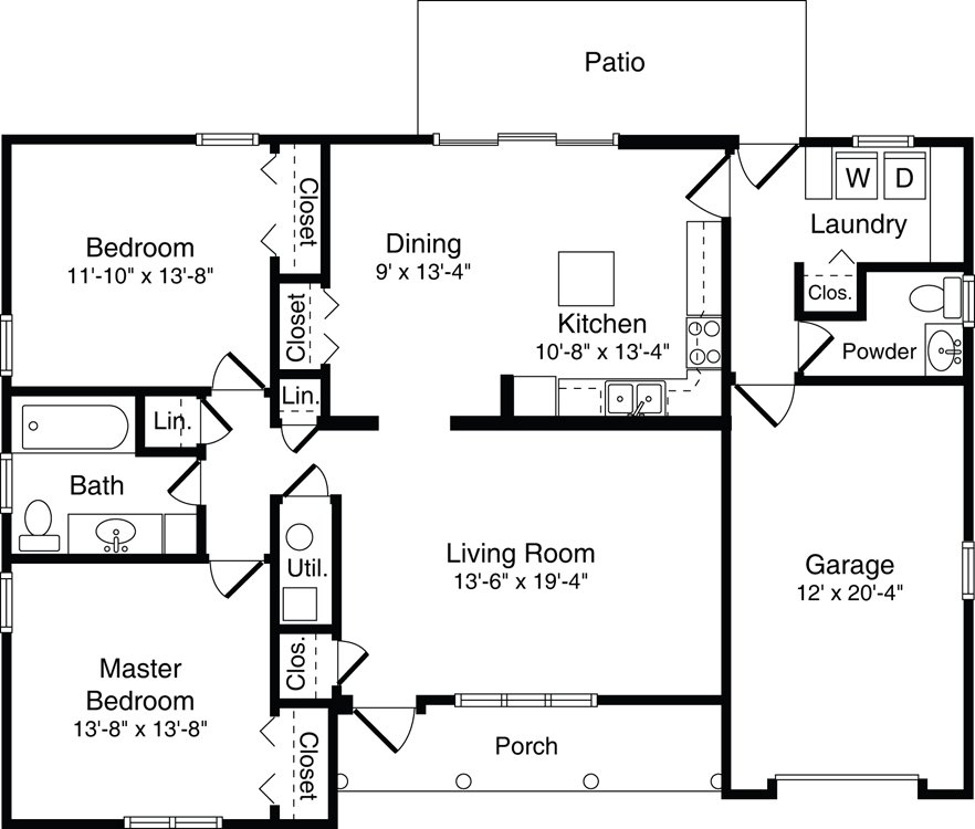Independent living wesbury retirement community 3 bedroom villa floor plans