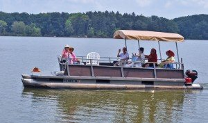 Enhanced Living Pontoon boat ride