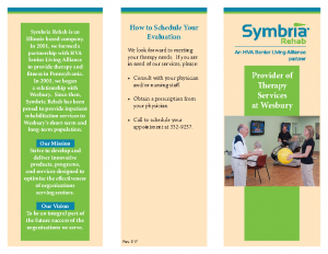 Symbria Rehab Brochure